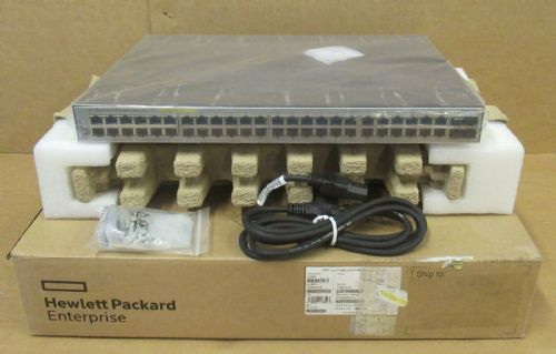 NEW HPE JL386A OfficeConnect 1920S 48G 4SFP PPoE+ 370W Switch JL386-61002 HP